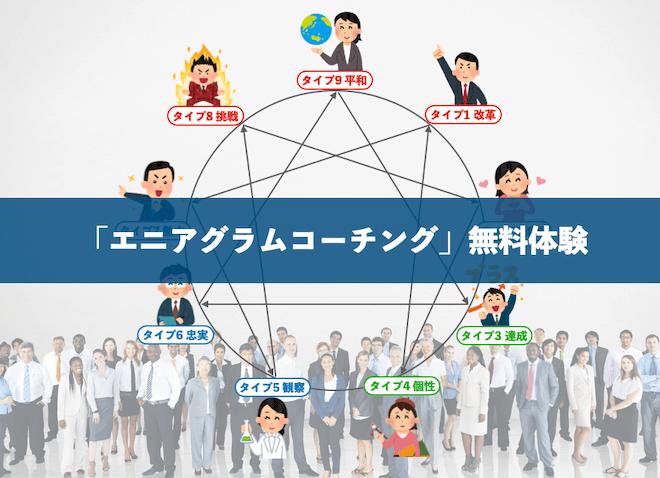 【無料】長崎からエニアグラムコーチングをZOOMオンラインで実施